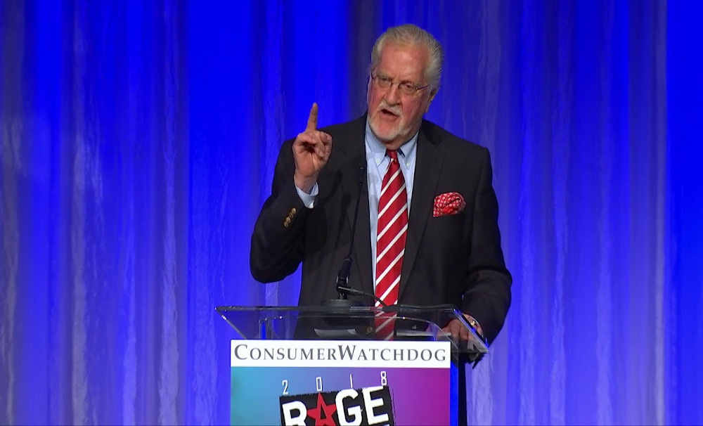 Joseph W. Cotchett Receives Lifetime Achievement Award from Consumer Watchdog